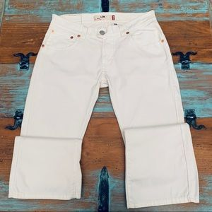 LEVI'S 542 Low Boot Cut Pants. Woman's Size 12